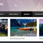 Menú para WordPress con UberMenu