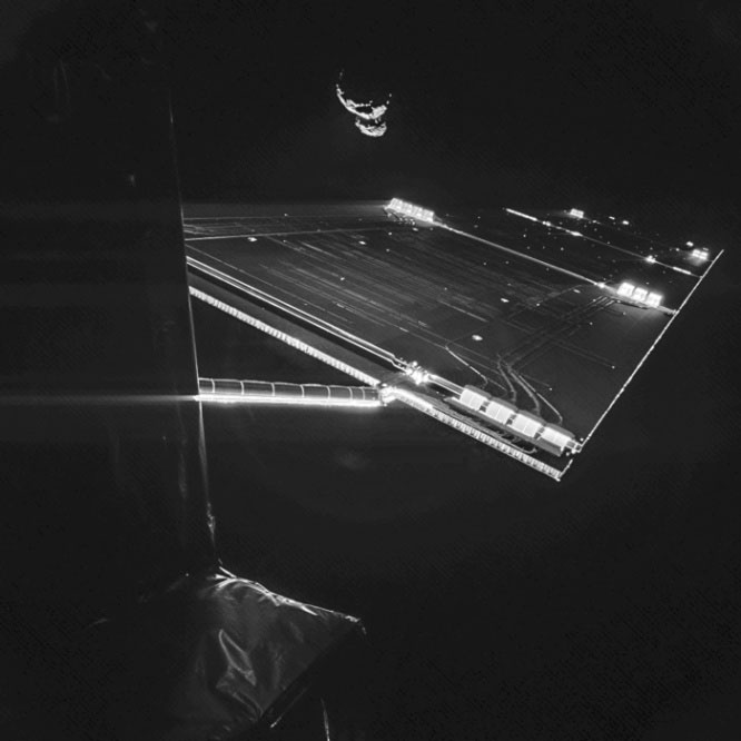 Philae-sonda-selfie