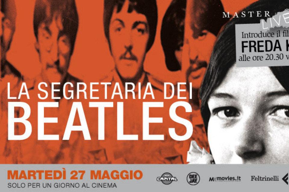 Cartel-promocional-de-La-segretaria-dei-Beatles