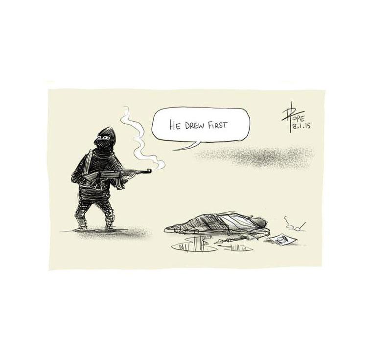CharlieHebdo caricatura solidaria 7