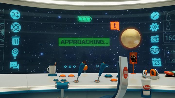 JohnnyExpress el mensajero del espacio